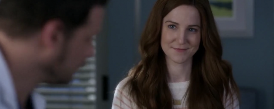 Screencaps of Sarah in Grey's Anatomy